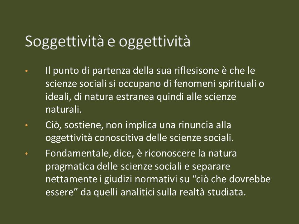 Soggettività e oggettività