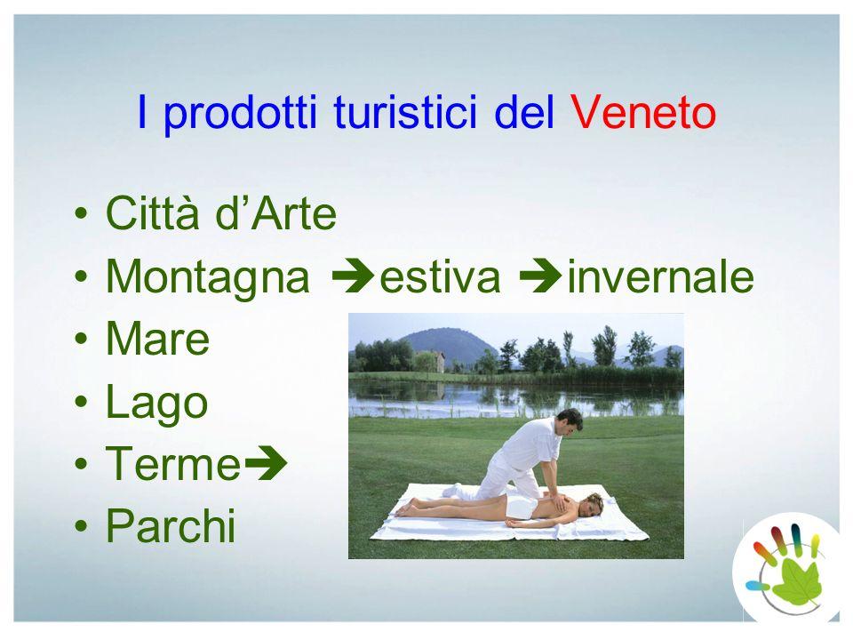 I prodotti turistici del Veneto