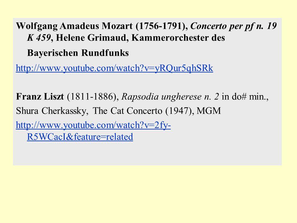 Wolfgang Amadeus Mozart (1756-1791), Concerto per pf n