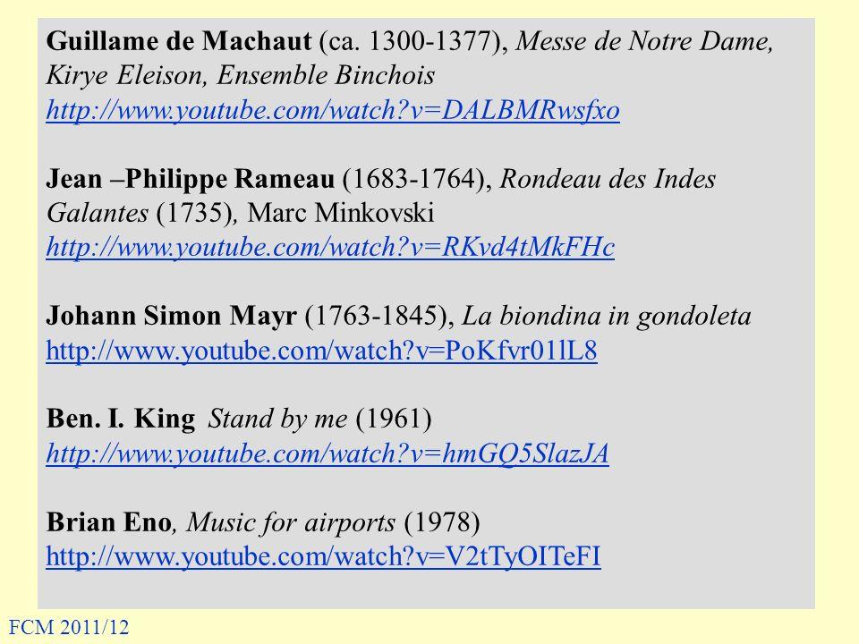 Johann Simon Mayr (1763-1845), La biondina in gondoleta