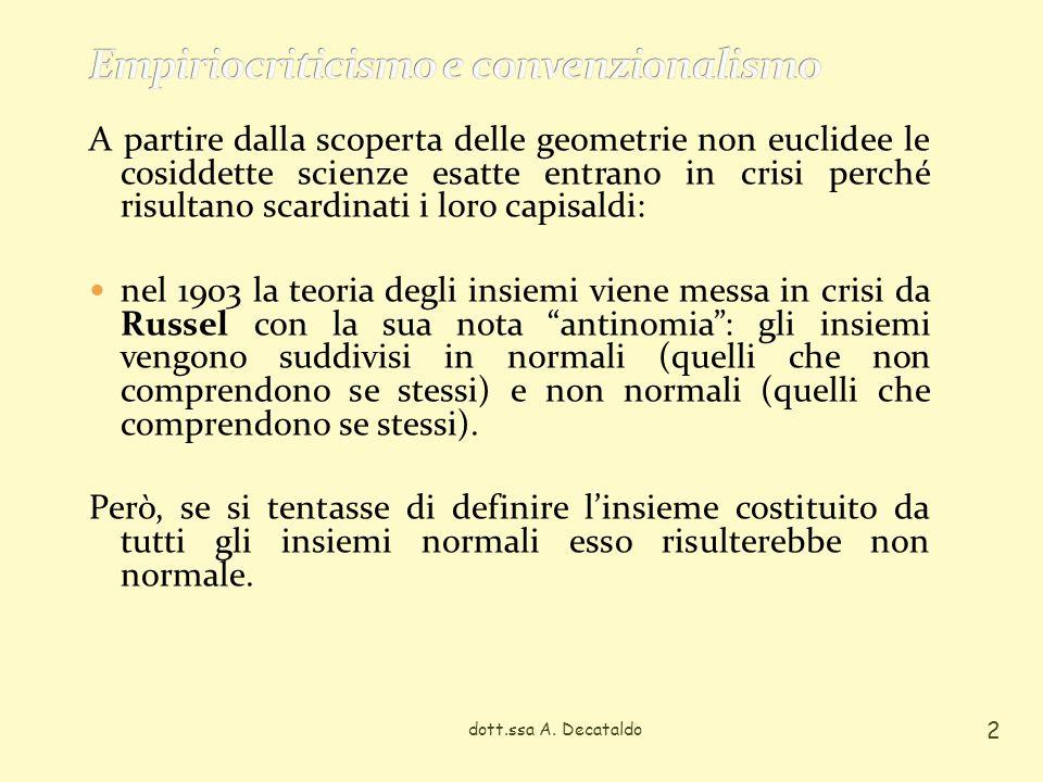 Empiriocriticismo e convenzionalismo