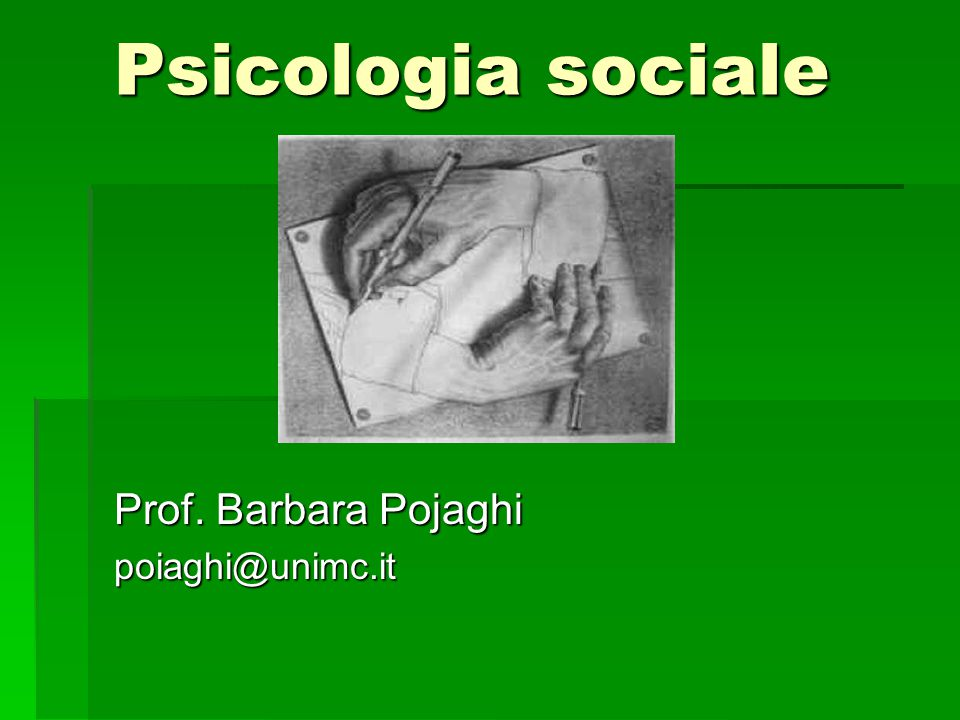 Prof. Barbara Pojaghi poiaghi@unimc.it