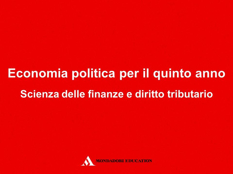 Economia politica per il quinto anno