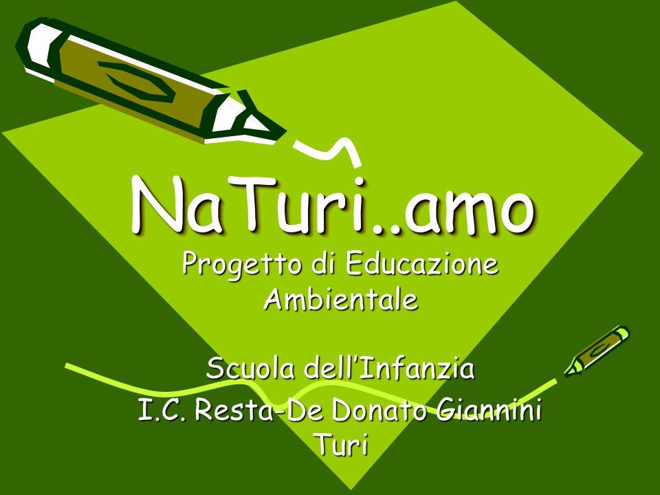 NaTuri..amo Progetto di Educazione Ambientale Scuola dell'Infanzia
