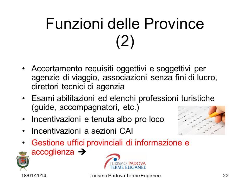 Funzioni delle Province (2)