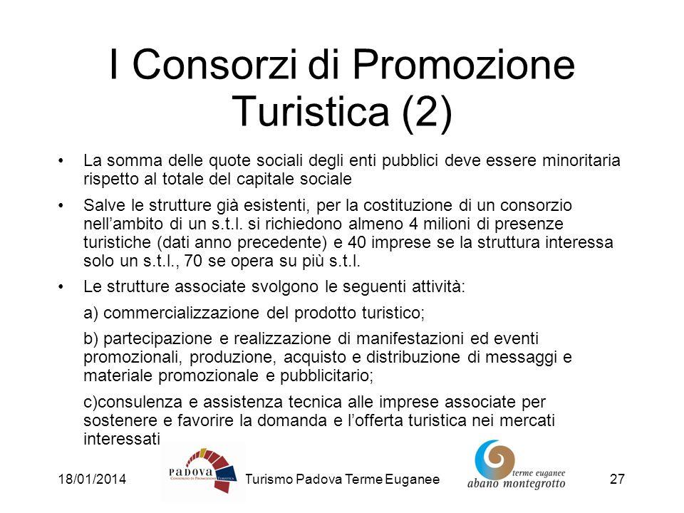 I Consorzi di Promozione Turistica (2)