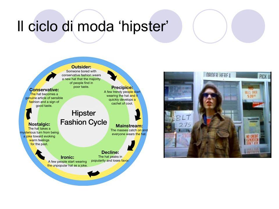 Il ciclo di moda 'hipster'