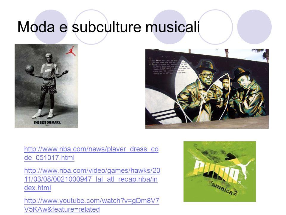 Moda e subculture musicali