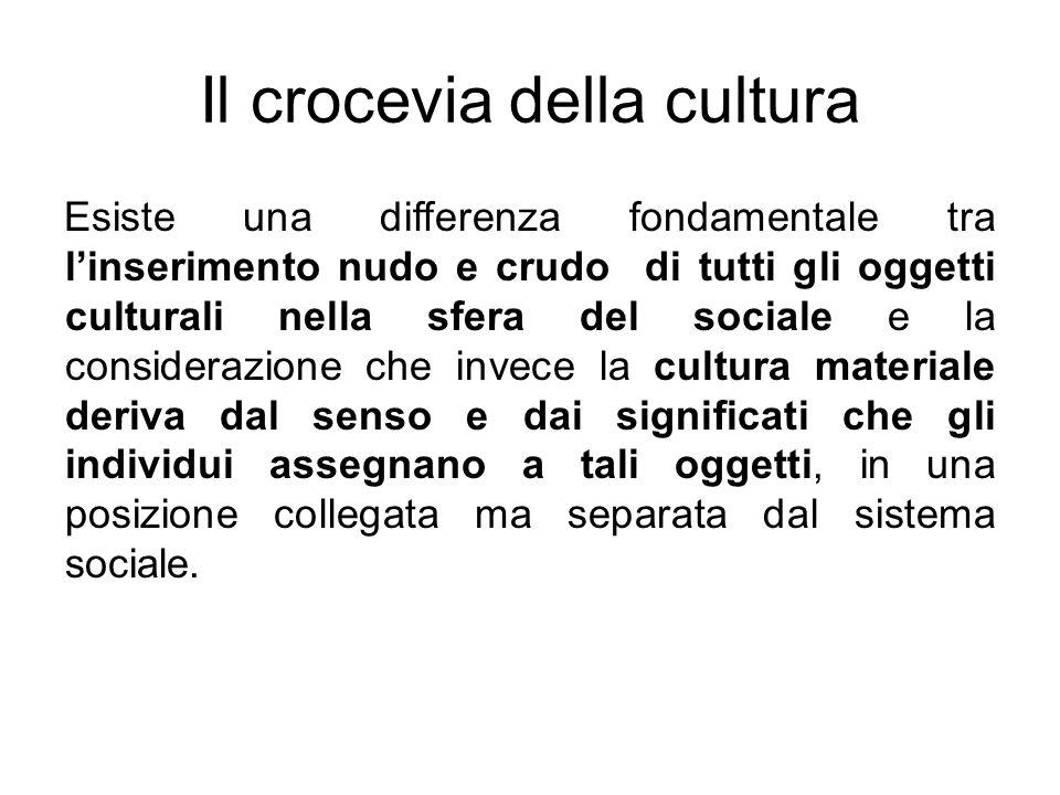 Il crocevia della cultura