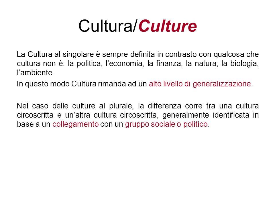 Cultura/Culture