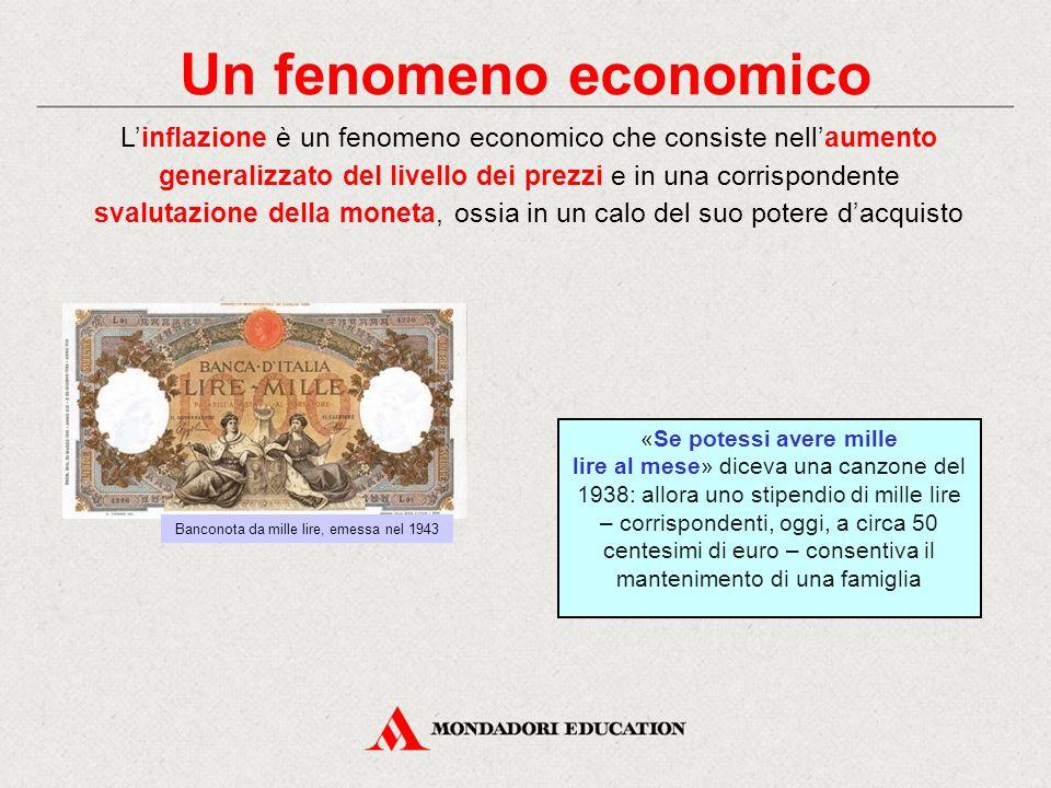 Un fenomeno economico