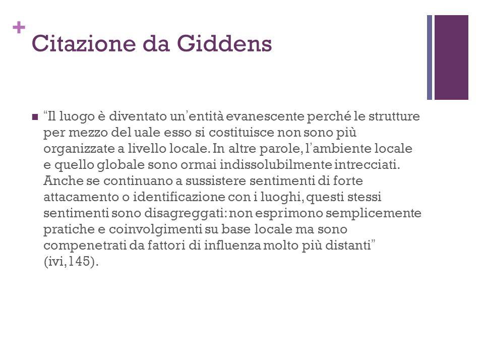 Citazione da Giddens