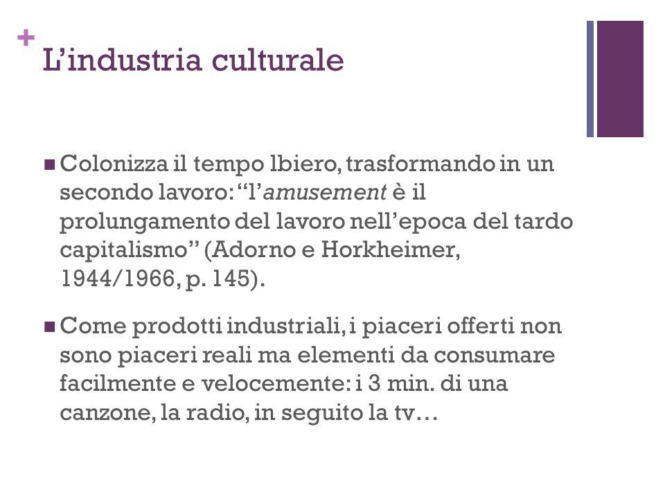 L'industria culturale
