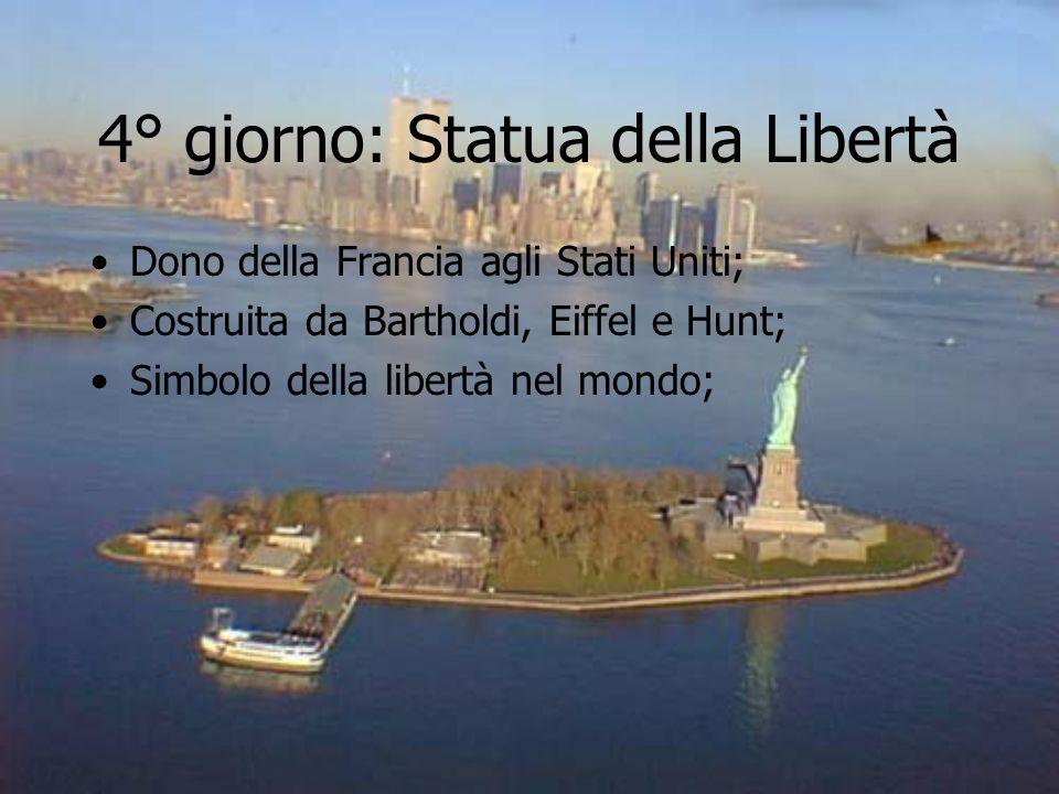 4° giorno: Statua della Libertà