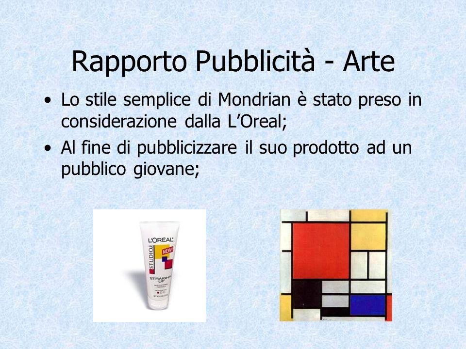 Rapporto Pubblicità - Arte