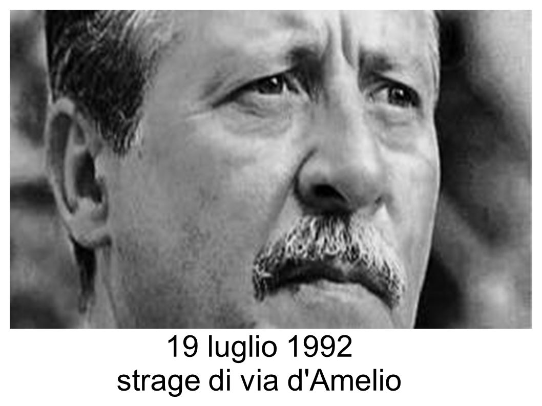 19 luglio 1992 strage di via d Amelio