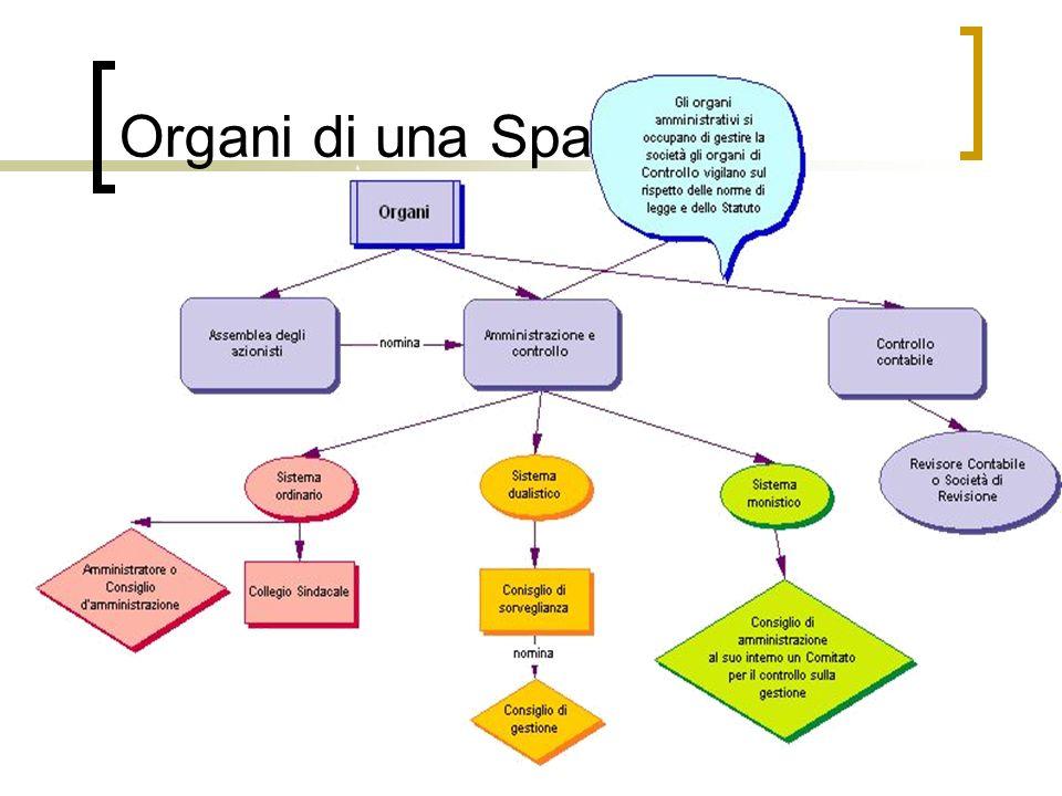 Organi di una Spa