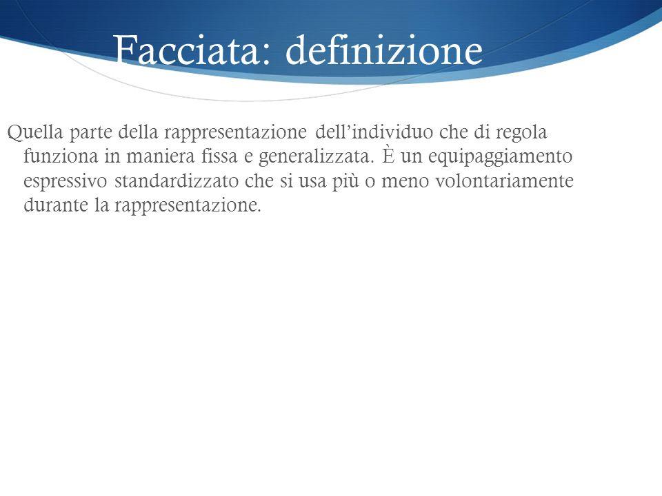 Facciata: definizione
