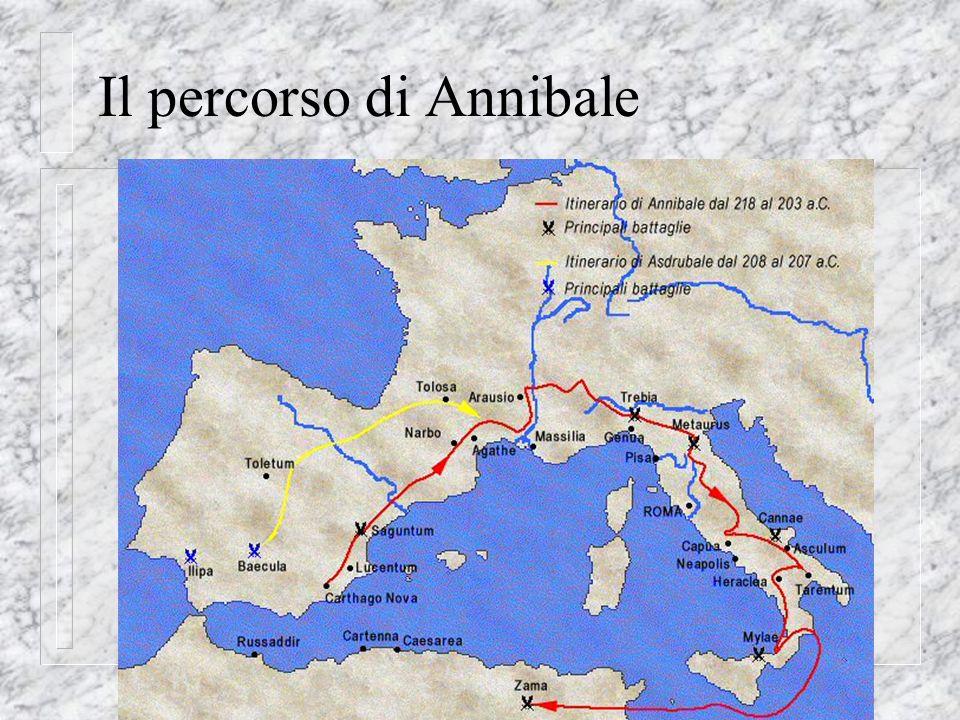 Il percorso di Annibale