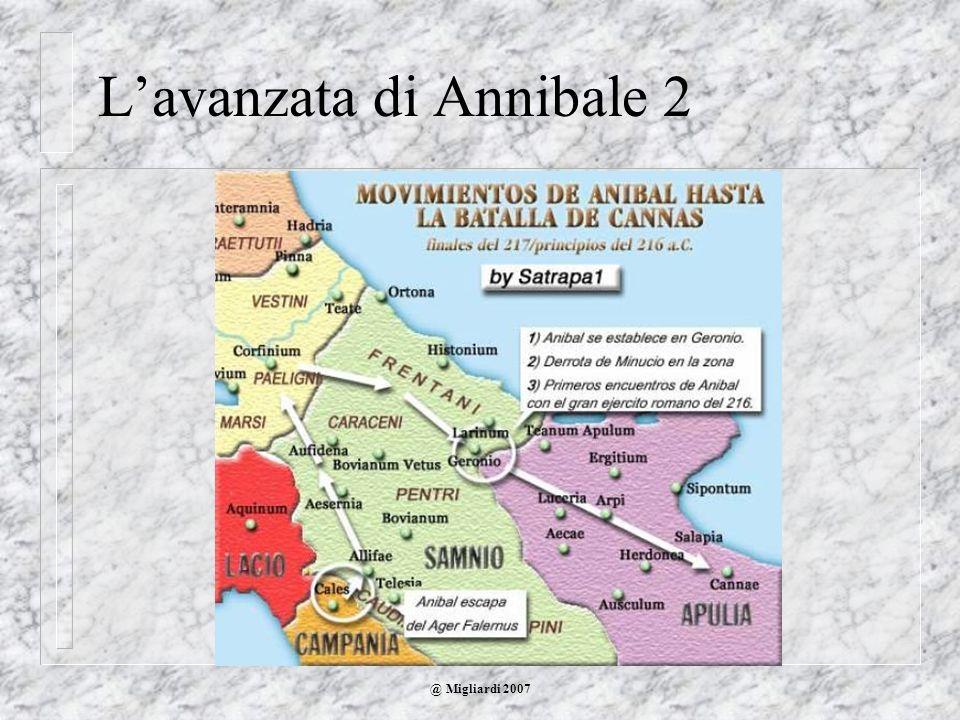 L'avanzata di Annibale 2