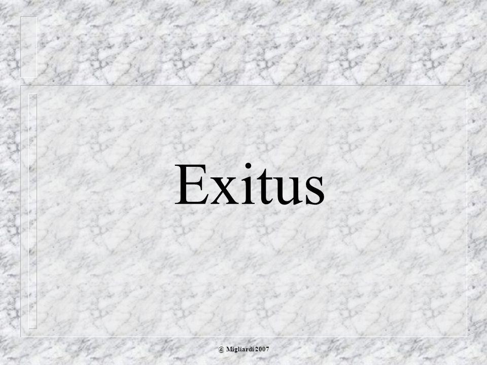 Exitus @ Migliardi 2007