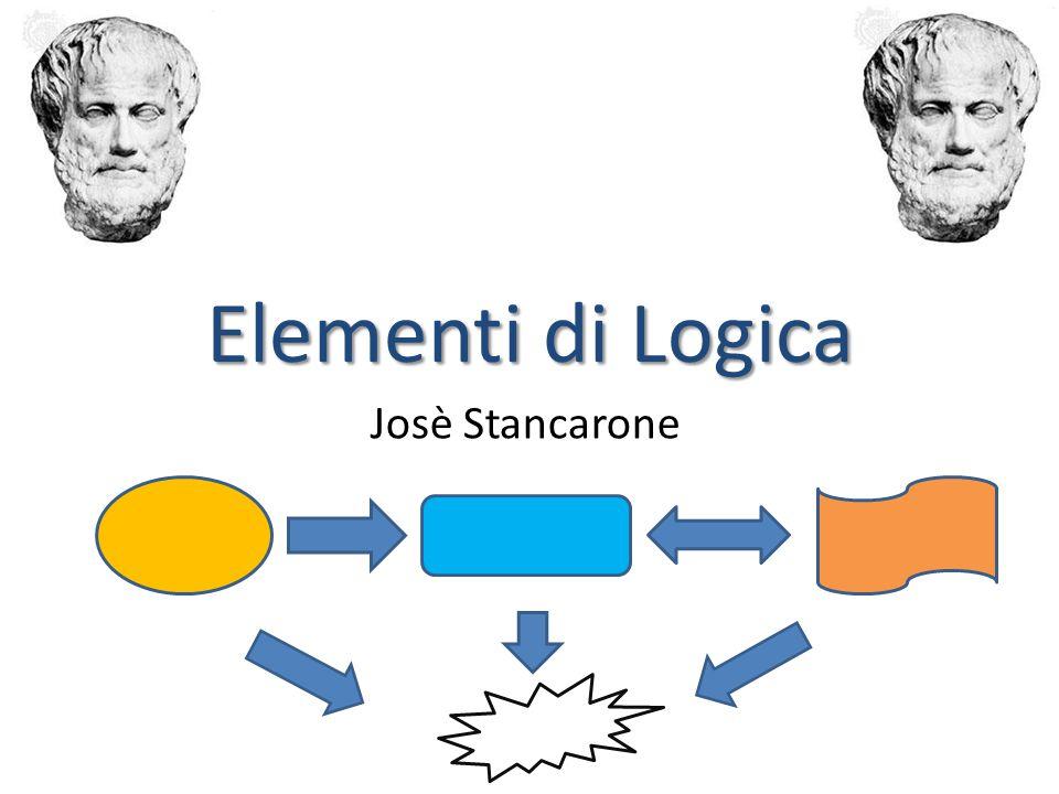 Elementi di Logica Josè Stancarone