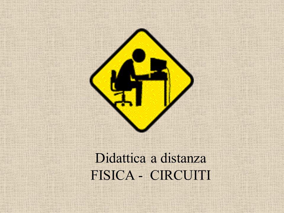 Didattica a distanza FISICA - CIRCUITI