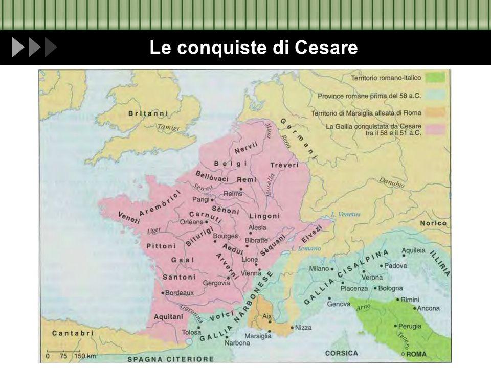 Le conquiste di Cesare