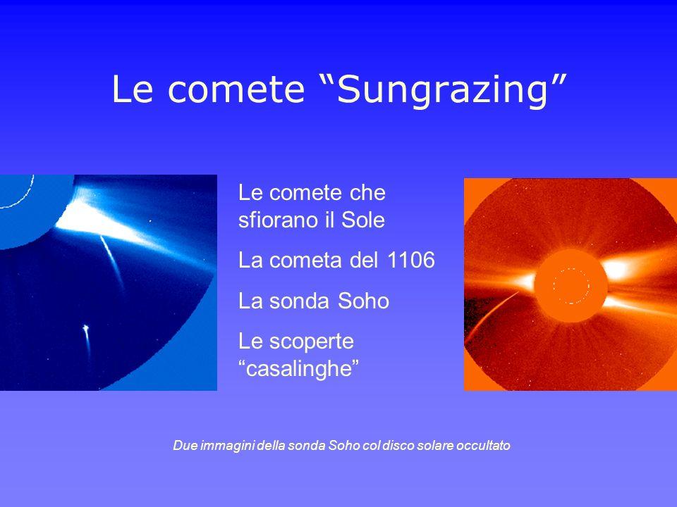 Le comete Sungrazing