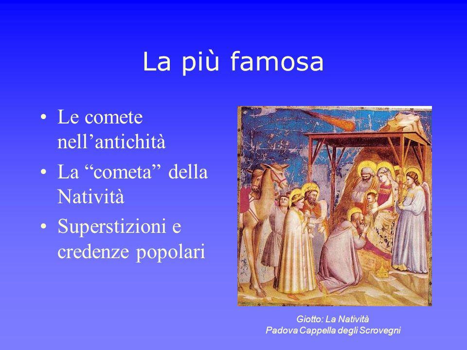 Giotto: La Natività Padova Cappella degli Scrovegni