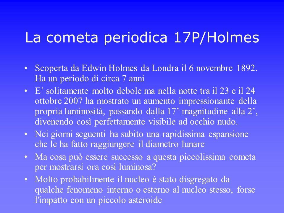 La cometa periodica 17P/Holmes