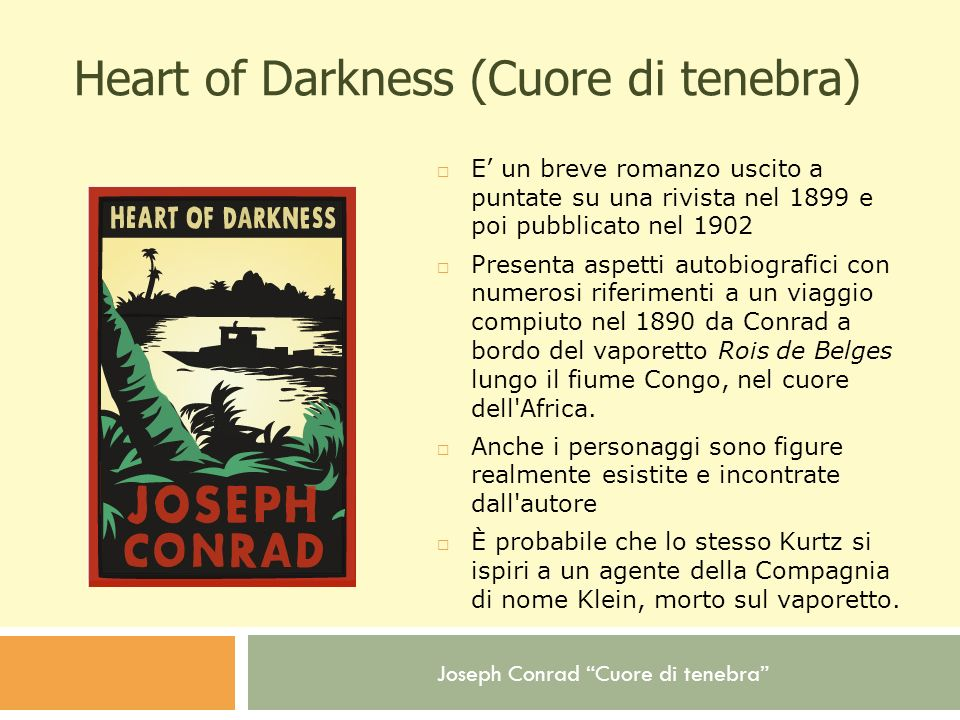Heart of Darkness (Cuore di tenebra)