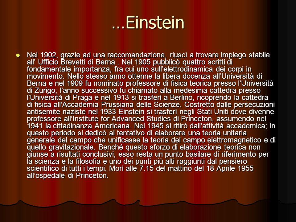 …Einstein