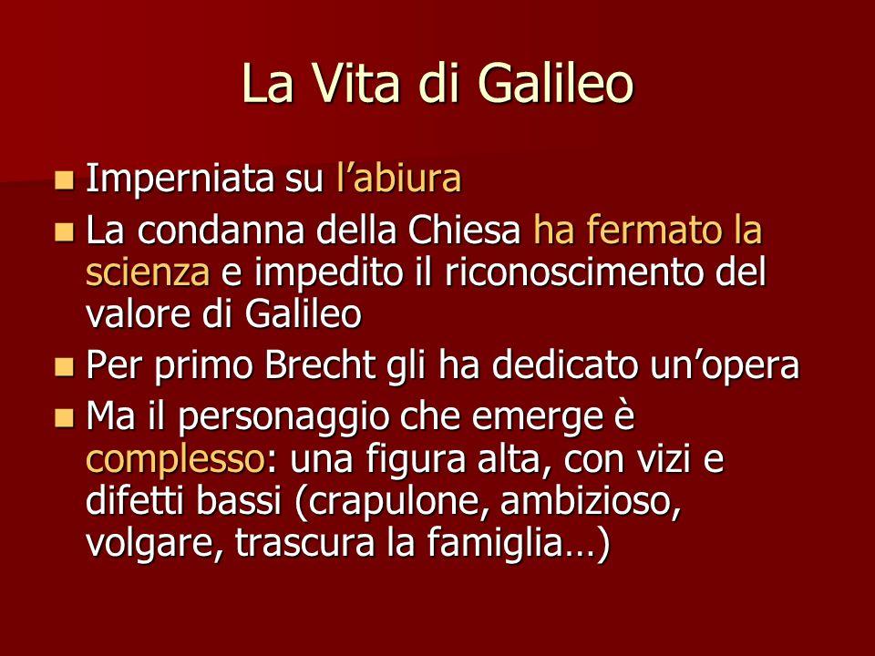 La Vita di Galileo Imperniata su l'abiura