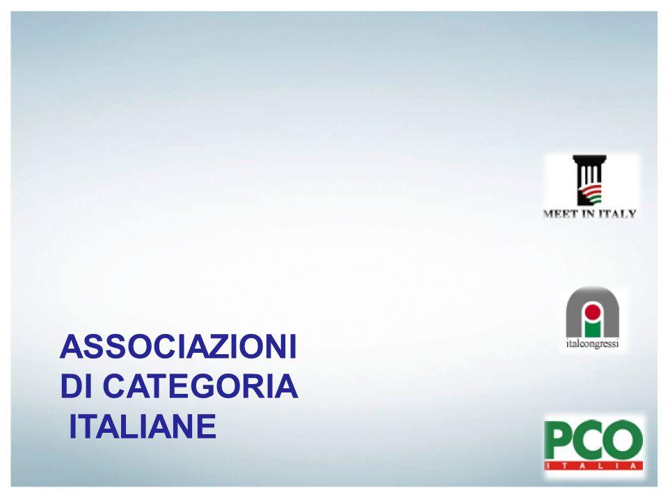 ASSOCIAZIONI DI CATEGORIA ITALIANE