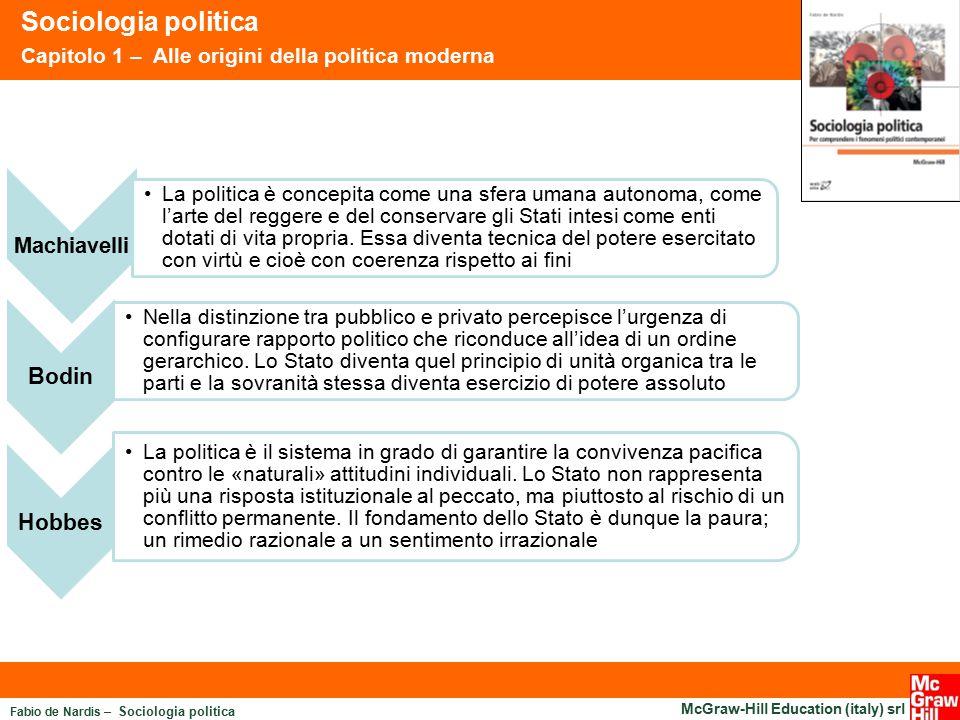 Sociologia politica Bodin Hobbes