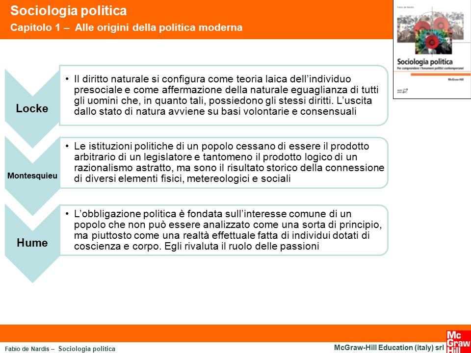 Sociologia politica Locke Hume