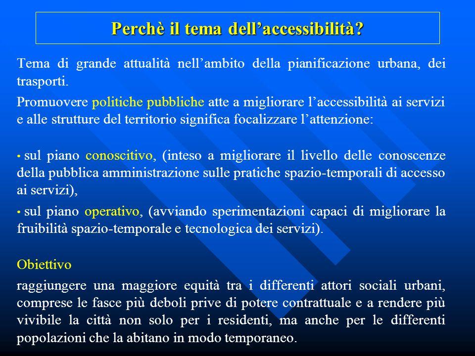 Perchè il tema dell'accessibilità