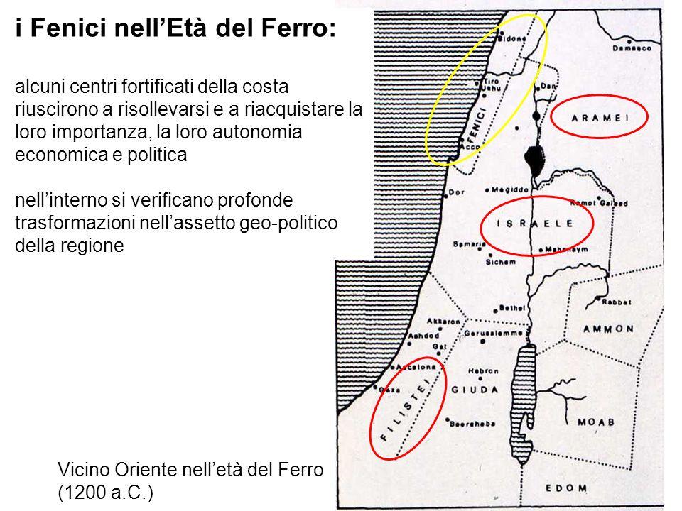 Vicino Oriente nell'età del Ferro (1200 a.C.)