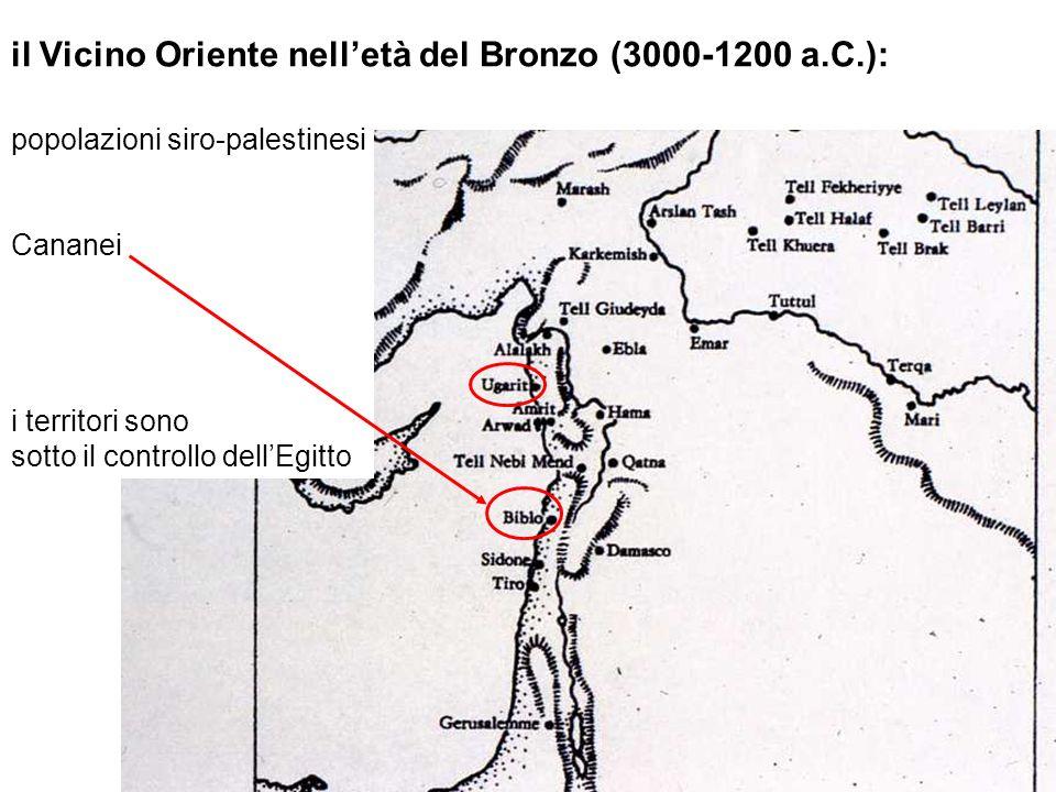 il Vicino Oriente nell'età del Bronzo (3000-1200 a.C.):