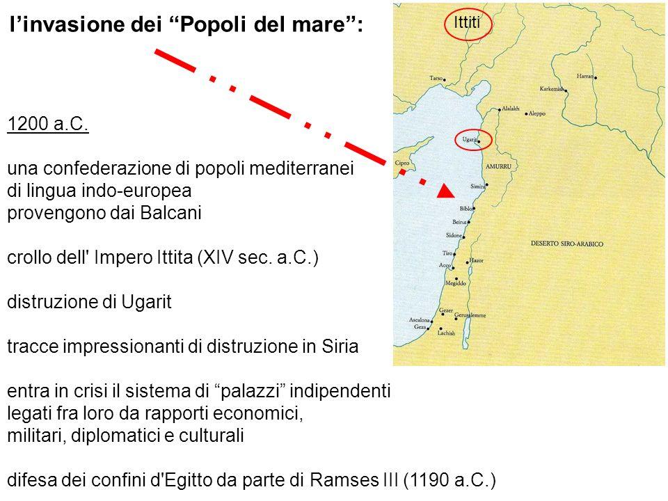 l'invasione dei Popoli del mare :