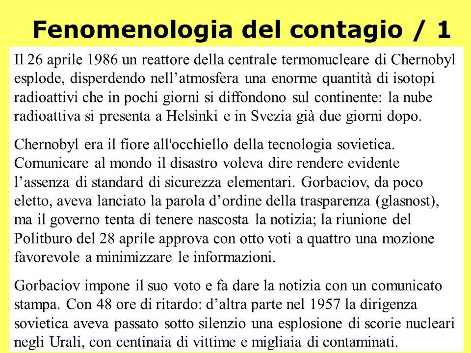 Fenomenologia del contagio / 1