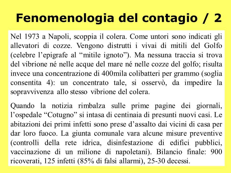 Fenomenologia del contagio / 2