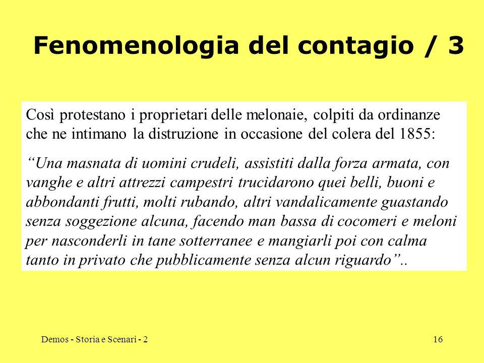 Fenomenologia del contagio / 3