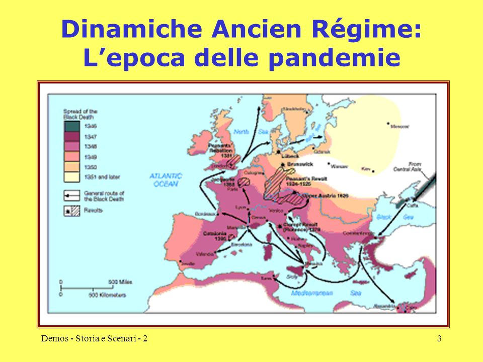 Dinamiche Ancien Régime: L'epoca delle pandemie