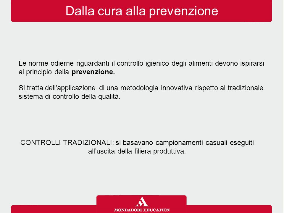 Dalla cura alla prevenzione