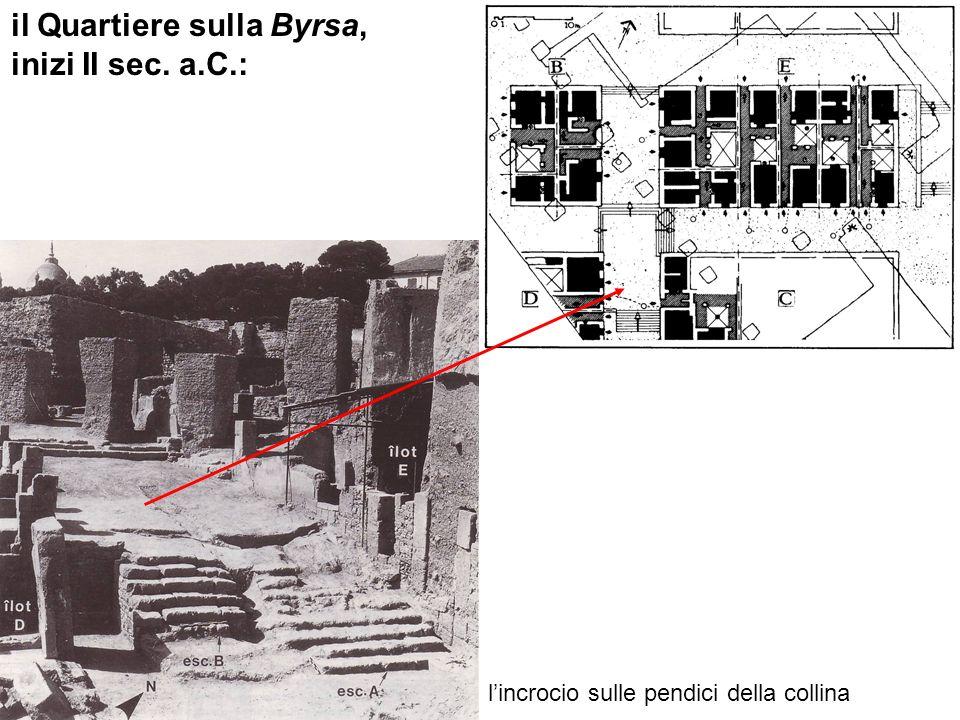 il Quartiere sulla Byrsa, inizi II sec. a.C.: