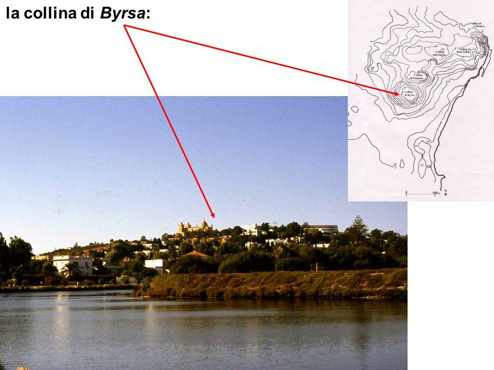 la collina di Byrsa: