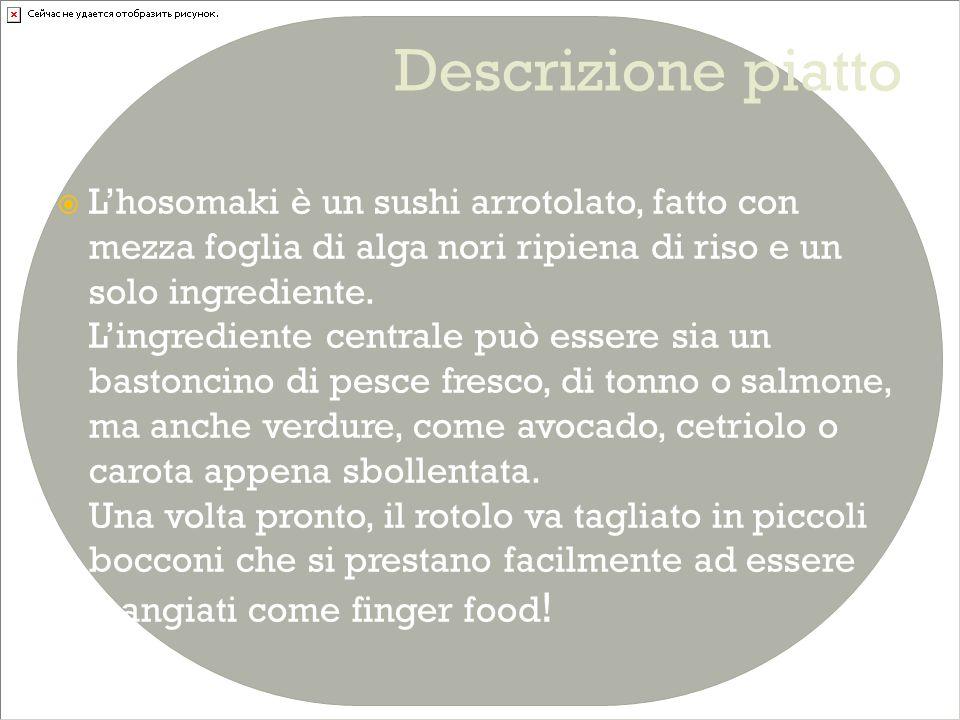 Descrizione piatto