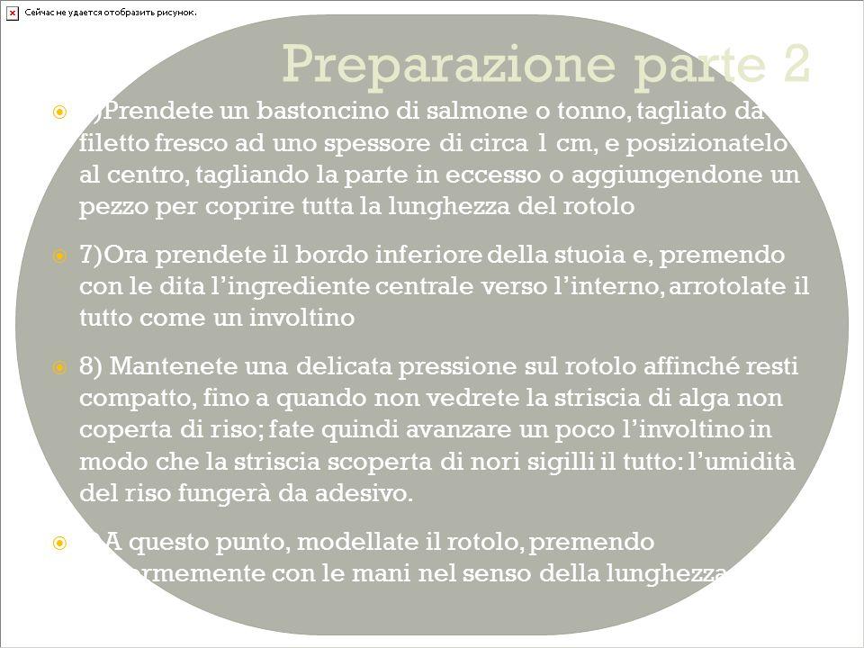 Preparazione parte 2